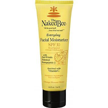 Naked Bee Facial Moisturizer with SPF 30 (2.5 oz) - Orange Blossom Scent - The Soap Opera Company