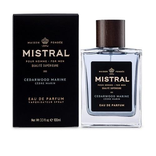 Mistral Men's Cologne-Cedarwood Marine Scent (3.4 fl.oz) - The Soap Opera Company