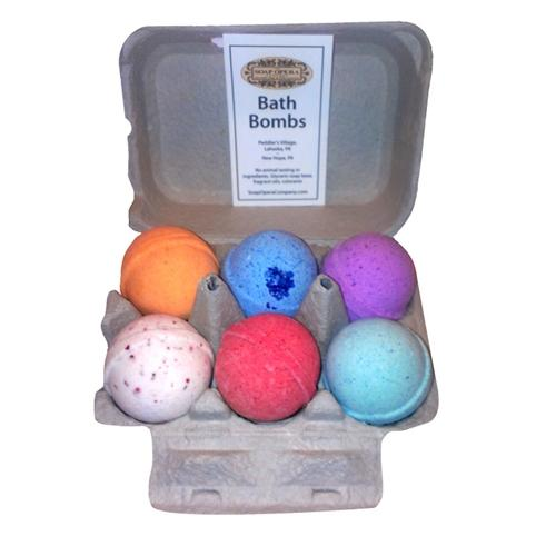 The Soap Opera Company Bath Bomb - Six Pack