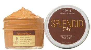 Farmhouse Fresh Pumpkin Mud Mask (3.2oz) - The Soap Opera Company