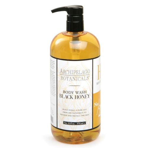 Archipelago Black Honey Body Wash (32oz) - The Soap Opera Company