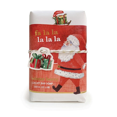 Mistral Limited Edition - Fa La La Wrapped Soap (200gm)