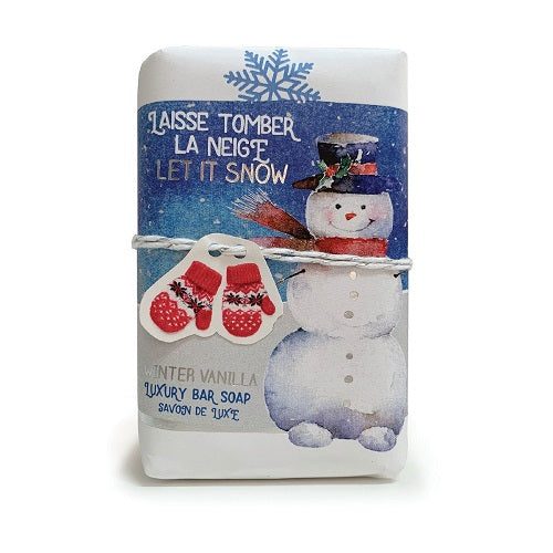 Mistral Limited Edition - Let It Snow Wrapped Soap (200gm)