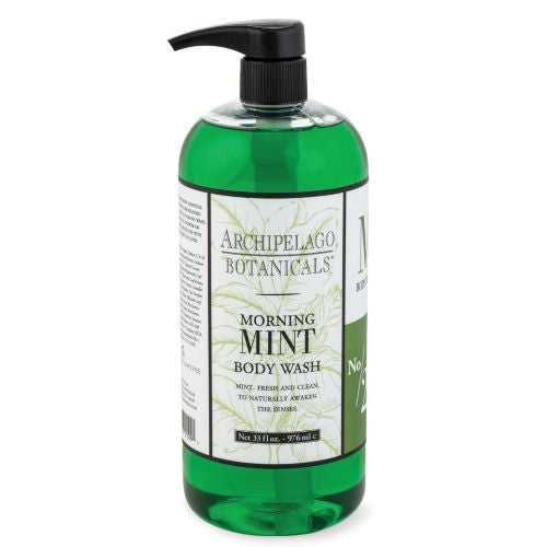 Archipelago Morning Mint Body Wash 32oz - The Soap Opera Company