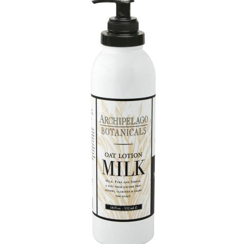 Archipelago Oat Milk Lotion (18oz) - The Soap Opera Company