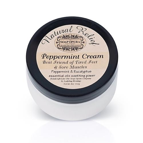 The Soap Opera Company Peppermint Foot Cream - The Soap Opera Company