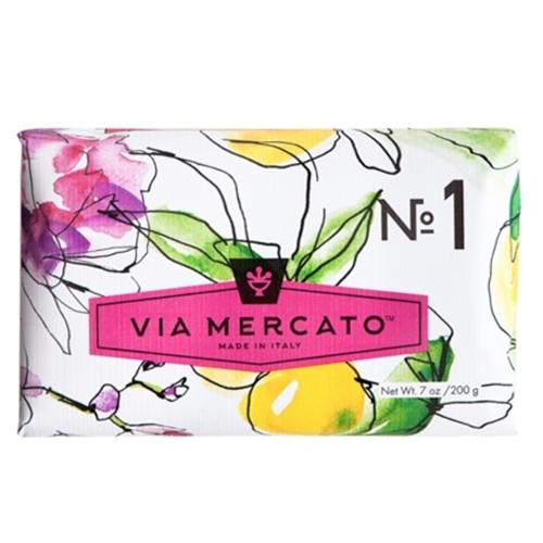 European Soaps- Via Mercato All Scents 200g - The Soap Opera Company