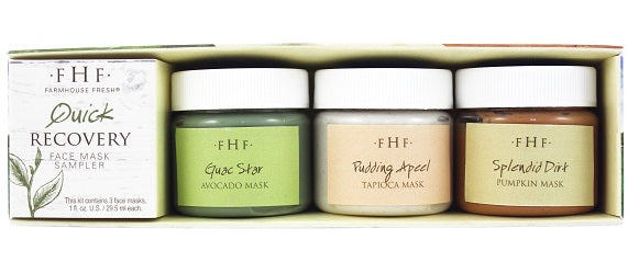 Farmhouse Fresh - Quick Recovery Face Mask Sampler - The Soap Opera Company
