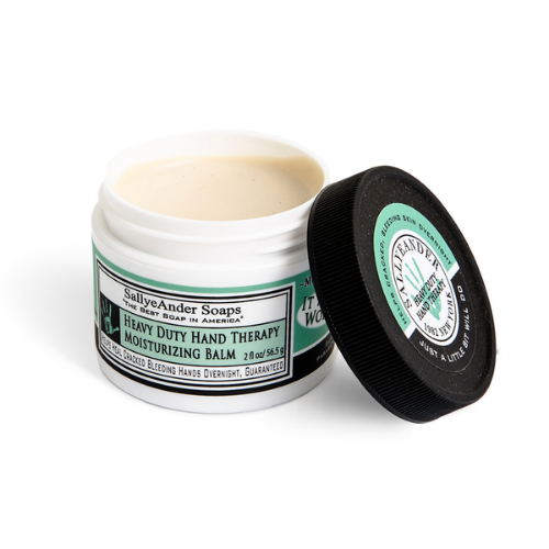 SallyeAnder Heavy Duty Hand Therapy Moisturizing Balm (2 oz) - The Soap Opera Company