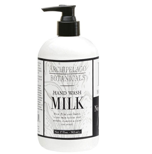 Archipelago Milk Hand Wash (17oz) - The Soap Opera Company