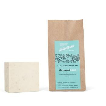 SallyeAnder Oatmeal Block Soap (5oz) - The Soap Opera Company