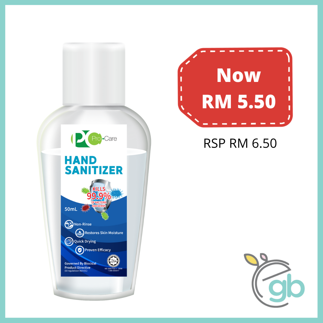 [Business] Pro.Care Hand Sanitizer 50ml