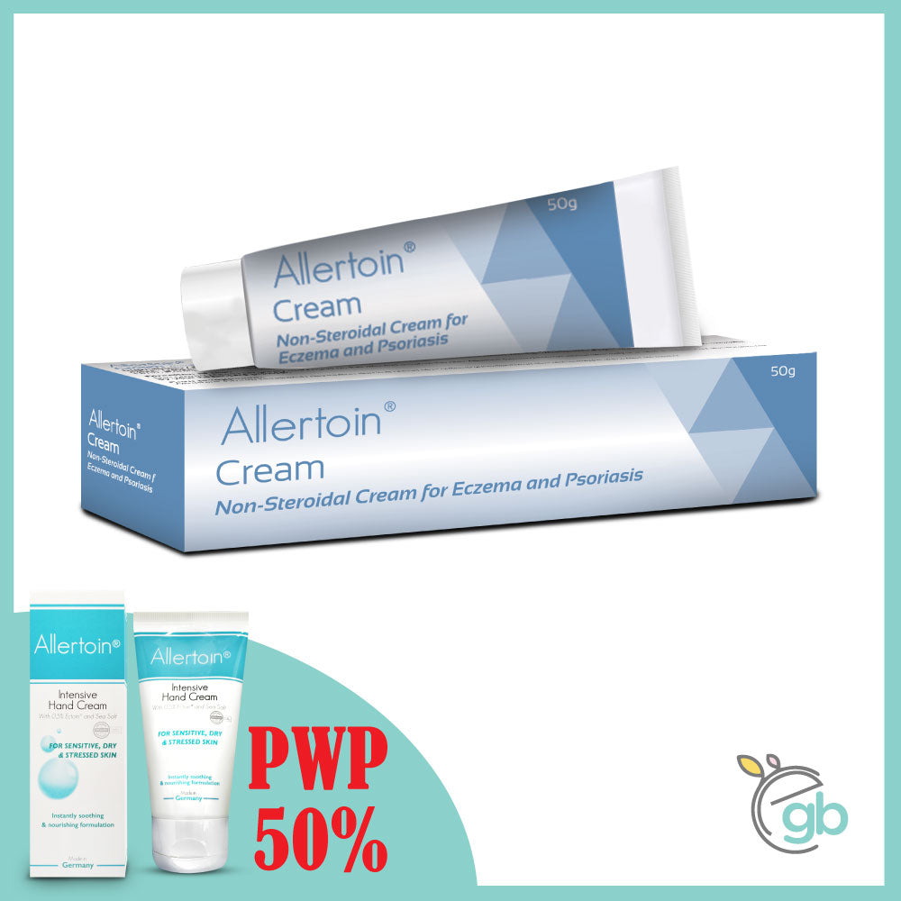 Allertoin® Cream with 50% OFF Allertoin Intensive Hand Cream