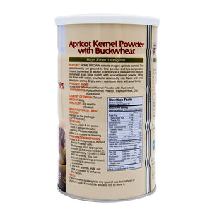 HomeBrown Apricot Kernel Powder with Buckwheat