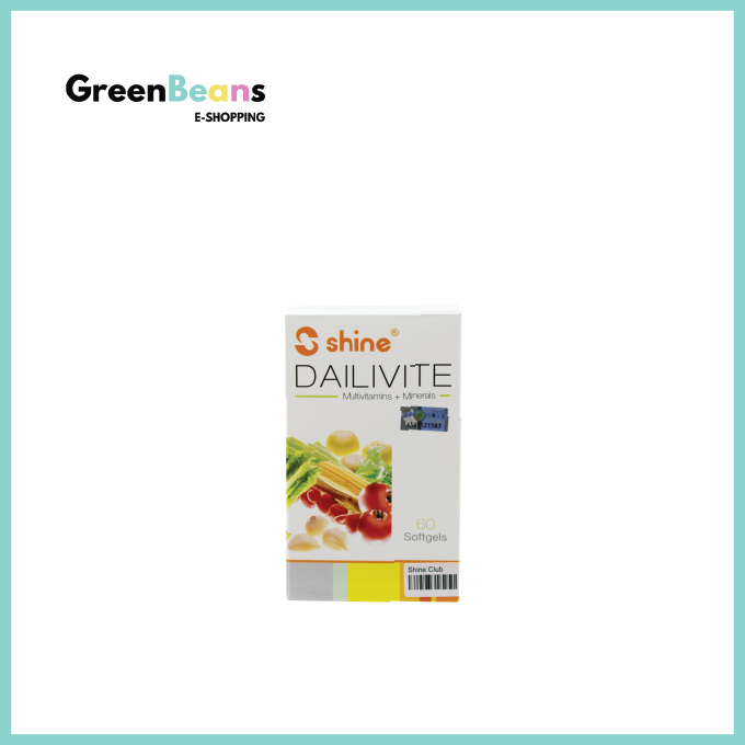 Shine Dailivite® Multivitamins + Minerals Softgels