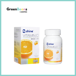 1+3 Combo: Shine Vitamin C-500 Plus Chewable Tablet (Orange Flavour) + ProCare Hand Sanitizer 50ml x 3