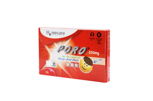 Poro® Suppository 250mg (5's)