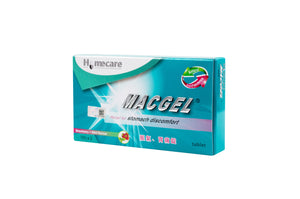 Macgel® Tablet for Stomach Discomfort (Strawberry + Peppermint Flavour)