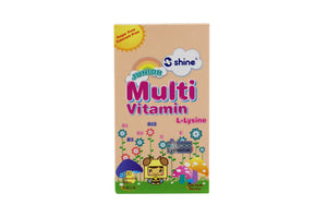 Shine Junior Multivitamin Plus Chewable Tablet (Tutti-Frutti Flavour)