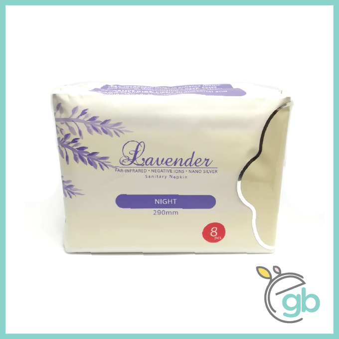 ProCare Lavender Sanitary Pad for Night