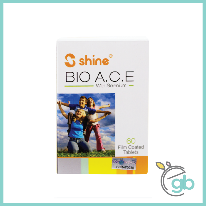 Shine Bio A.C.E. with Selenium Film Coated Tablet