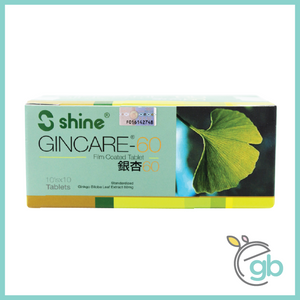 Shine Gincare® - 60 Film Coated Tablet