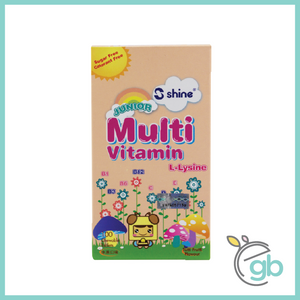 [Staff Purchase] Shine Junior Multivitamin Plus Chewable Tablet (MAX: 6)