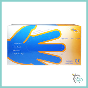 Latex Medical Examination Gloves (Size: M)