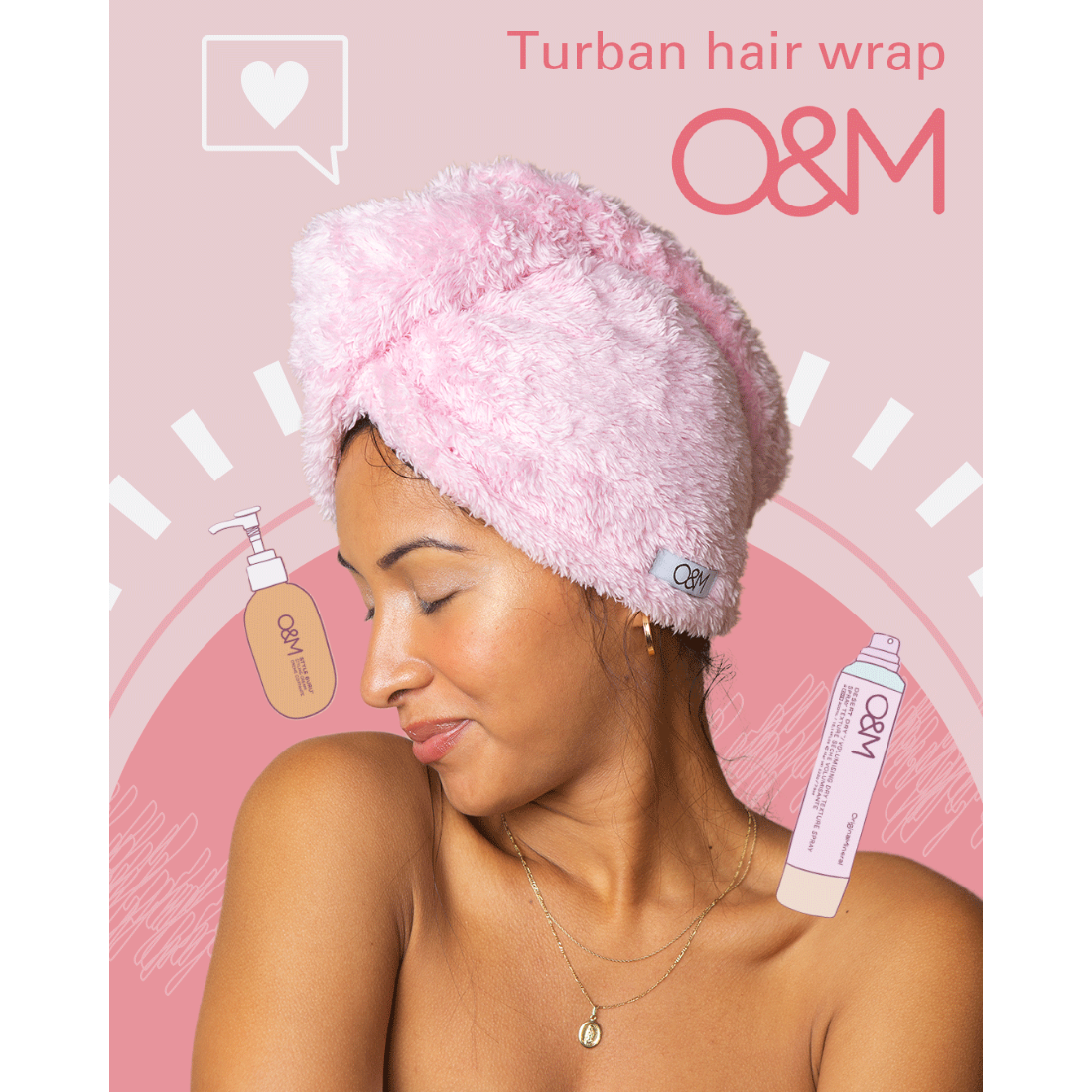 Turban Hair Wrap