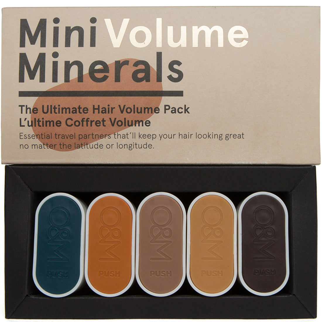 Mini Minerals Volume Haircare Kit