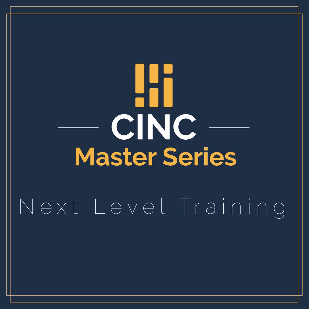 CINC Master Series | Accountability: Coaching Your Team the Right Way
