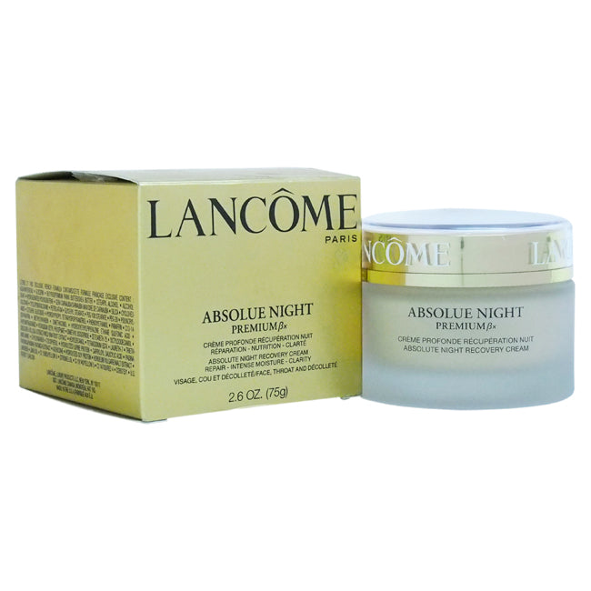 Absolue Night Premium Bx Absolute Night Recovery Cream by Lancome for Unisex 2.6oz