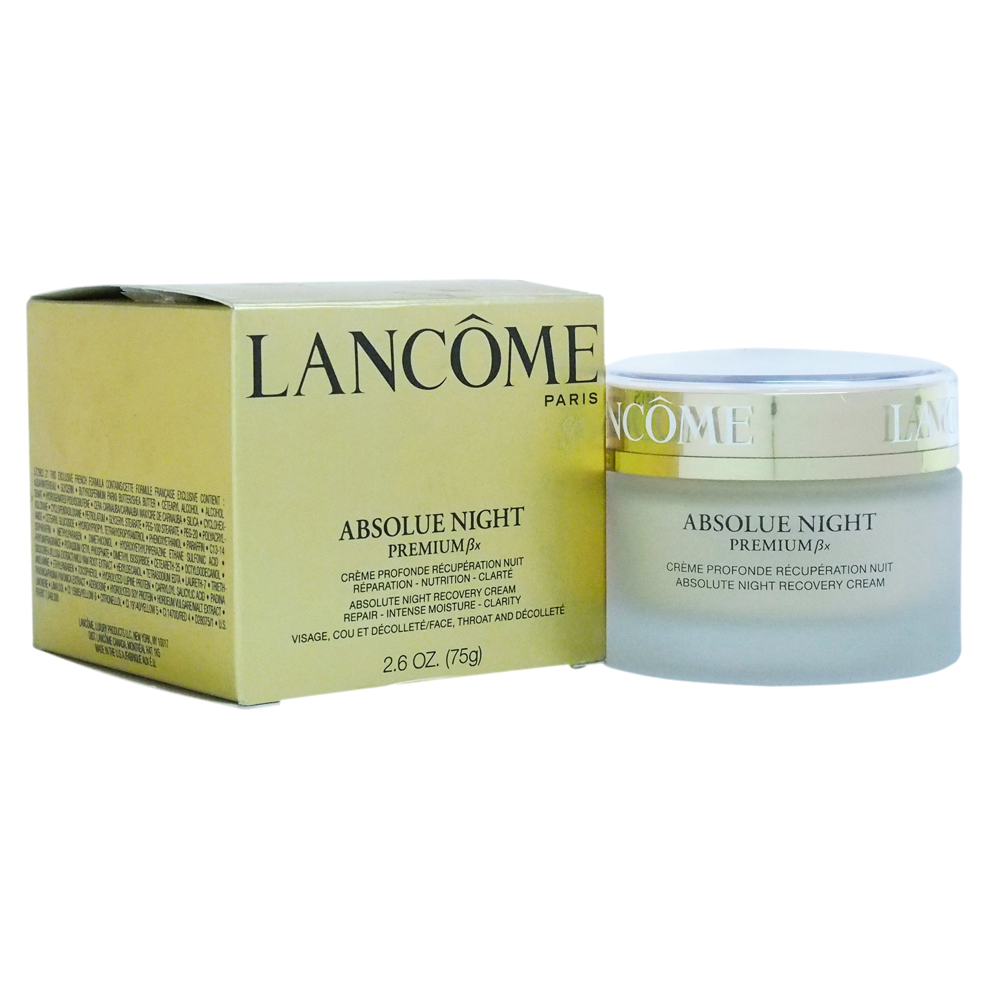 Lancome Absolue Night Premium Bx Absolute Night Recovery Cream (Made In USA)