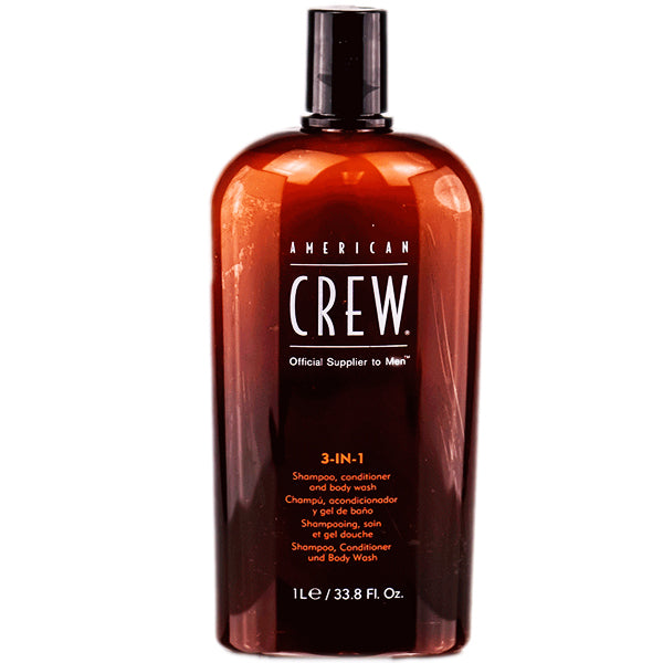 American Crew 3 In 1 Shampoo & Conditioner & Body Wash