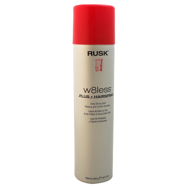 Rusk W8less Plus Extra Strong Hold Shaping and Control Hair Spray