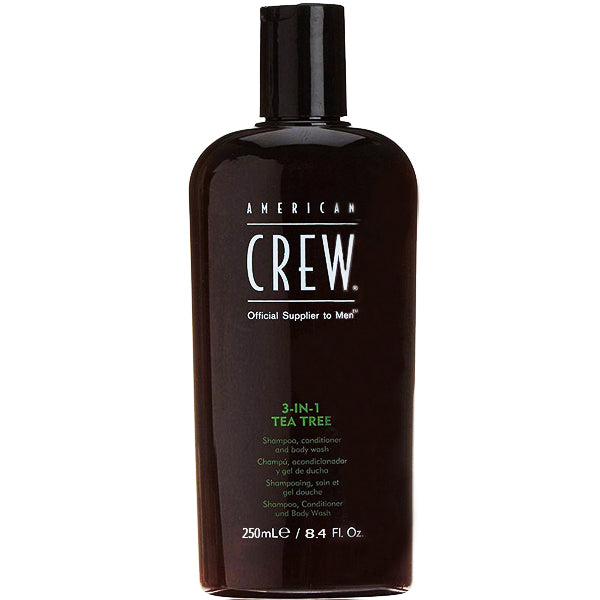 American Crew 3 In 1 Tea Tree Shampoo & Conditioner & Body Wash