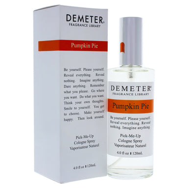 Pumpkin Pie by Demeter for Unisex - 4 oz Cologne Spray