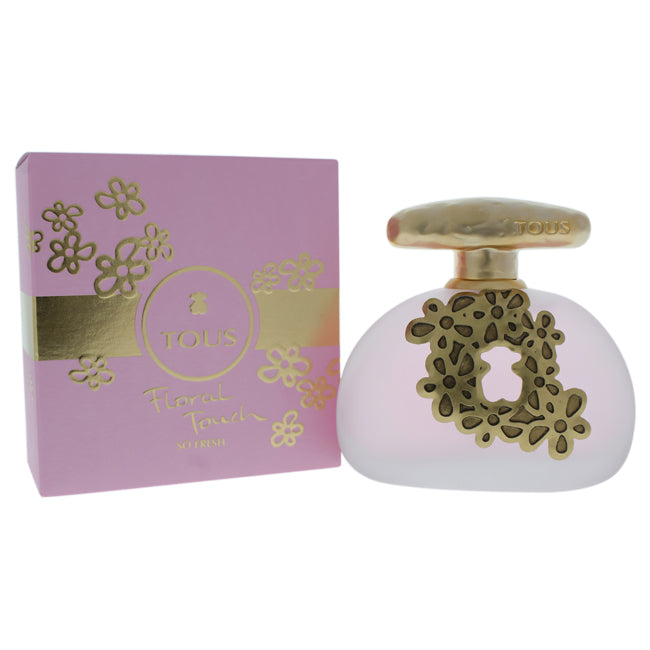Floral Touch So Fresh by Tous EDT Spray for Women 3.4oz