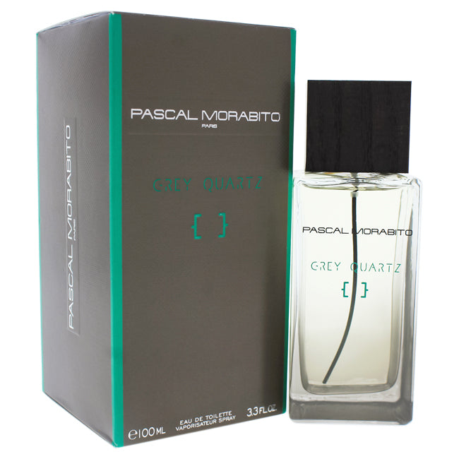 Grey Quartz by Pascal Morabito EDT Spray for Men 3.3oz