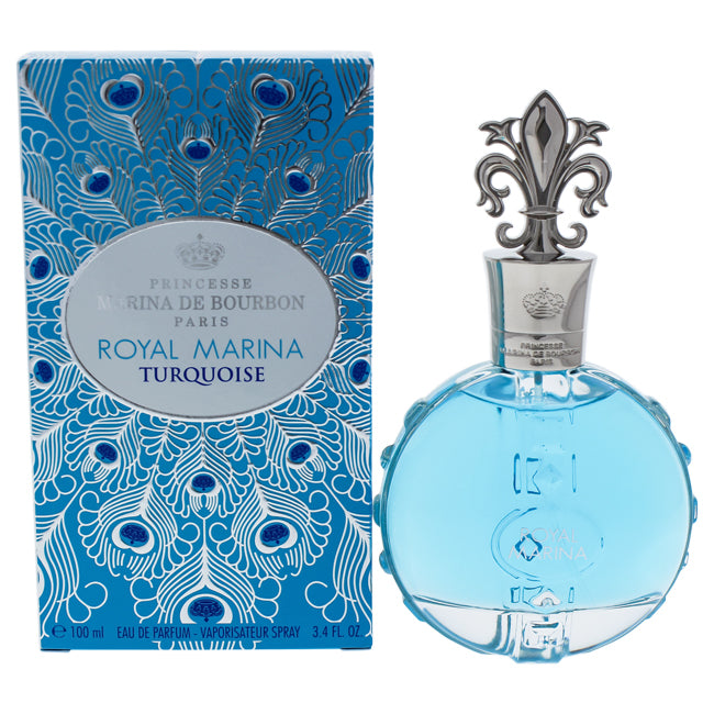 Royal Marina Turquoise by Princesse Marina De Bourbon EDP Spray for Women 3.4oz