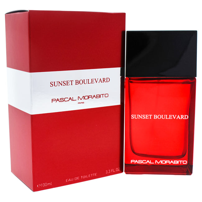 Sunset Boulevard by Pascal Morabito EDT Spray for Men 3.3oz