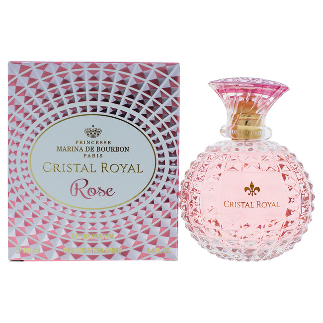 Cristal Royal Rose by Princesse Marina de Bourbon EDP Spray for Women 3.4oz