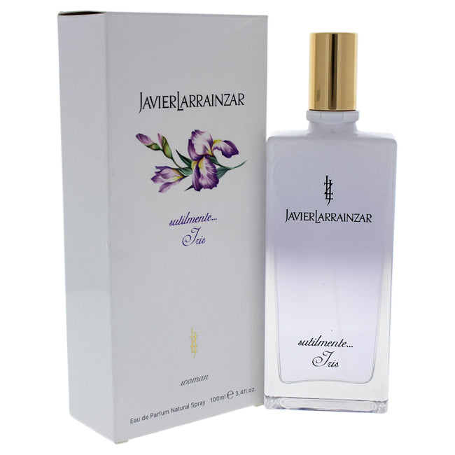 Subtly Iris by Javier Larrainzar EDP Spray for Women 3.4oz