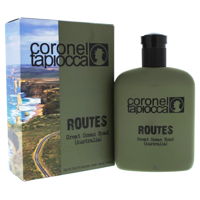 Routes Great Ocean Road Australia by Coronel Tapiocca EDT Spray for Men 2.6oz