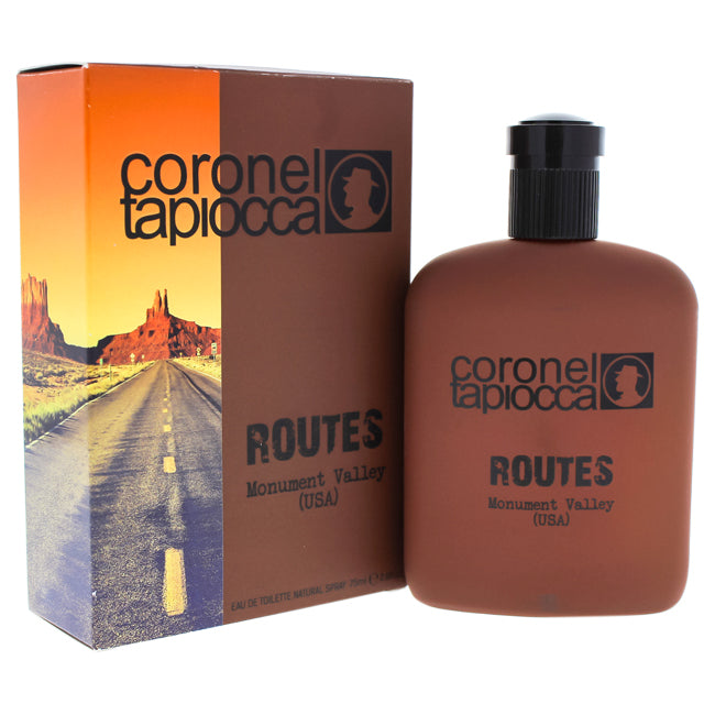 Routes Monument Valley USA by Coronel Tapiocca EDT Spray for Men 2.6oz