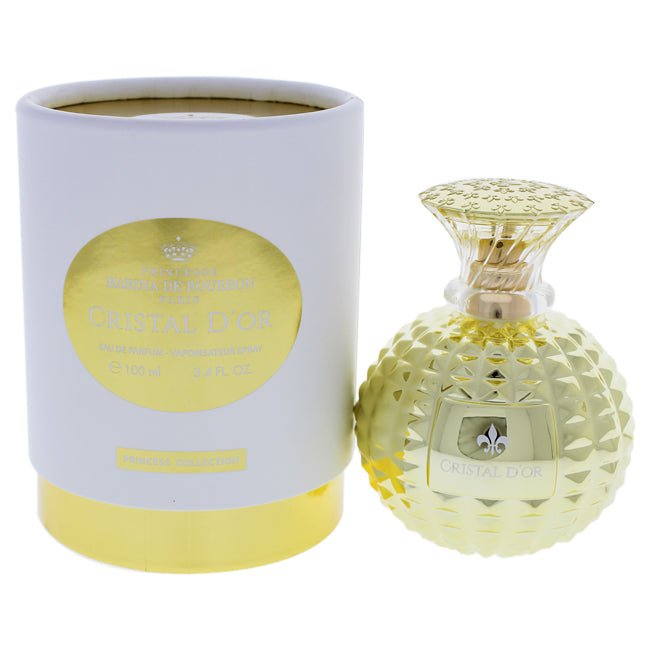 Cristal DOr by Princesse Marina de Bourbon EDP Spray for Women 3.4oz