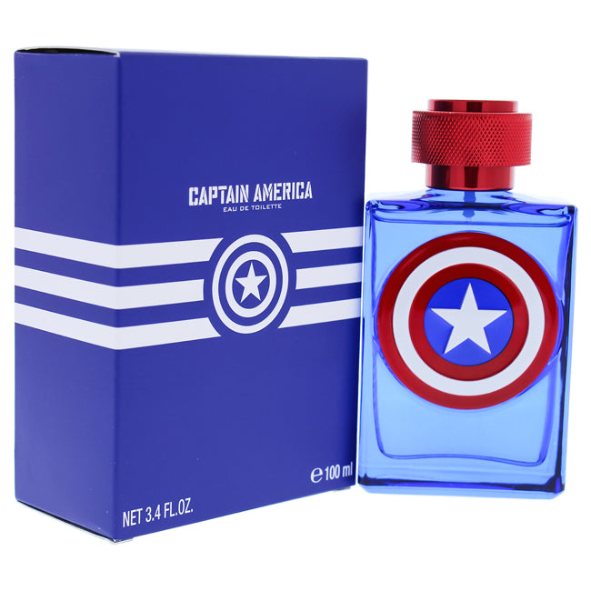 Captain America by Marvel EDT Spray for Kids 3.4oz