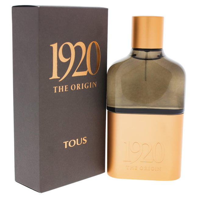 Tous 1920 The Origin by Tous EDP Spray for Men 3.4oz