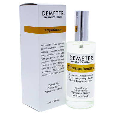 Chrysanthemum by Demeter Cologne Spray for Unisex 4oz