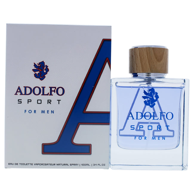 Adolfo Sport by Adolfo Dominguez EDT Spray for Men 3.4oz